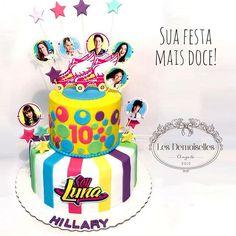 Soy Luna para os 10 anos da Hilary! Bolo tamanho 25 e 15 cm ! #soyluna #soylunacake #bolosoyluna #soylunaparty   Les Demoiselles - Excelência em seu evento    Contacte-nos  www.lesdemoiselles.com.br  lesdemoisellesangola@gmail.com  Telfs: 911552297 e 925411958 #lesdemoisellesangola #luanda #angola #festainfantil #doces #bolos #personalizados #casamento #bolocasamento #encomendas911552297e925411958 #muitoamorenvolvido