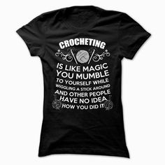 CROCHETING Tshirt Order HERE ==> https://www.sunfrog.com/LifeStyle/CROCHETING-Tshirt-Ladies.html?52686 Please tag & share with your friends who would love it  #superbowl #birthdaygifts #christmasgifts