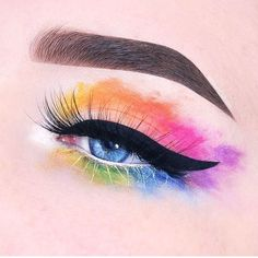 "768 Likes, 9 Comments - 100DaysOfMakeup (@100daysofmakeupchallenge) on Instagram: ""Watercolour DAY 87 by @beautycloudnl • • FOLLOW US:>>> @100daysofmakeupchalleng FOLLOW ADMIN:>>>…"""