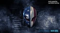 Part of a promotion between Alienware and PAYDAY. Users of an Alienware computer must run AlienFX to unlock the Alienware masks. Payday 2 Masks, Helmet Armor, Rockstar Games, Alienware, Computer Wallpaper, Darth Vader, Armors, Helmets, Nike Shoes