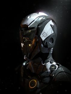 Helmet test, Mathias Zamęcki on ArtStation at http://www.artstation.com/artwork/helmet-test