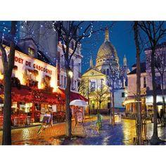 Puzzles Clementoni, Puzzle Montmartre, París, 1500 piezas - Tienda de Puzzles