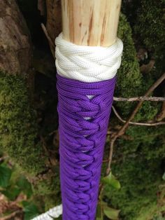 gaucho knot on walking stick