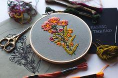 by Walker Boyes Embroidery Kits, Tableware, Dinnerware, Tablewares, Place Settings