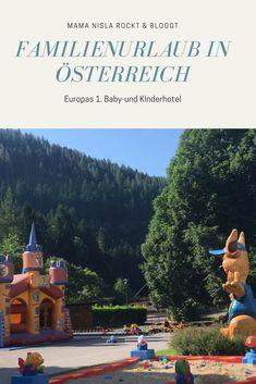 Urlaub im Kinderhotel in Österreich. Ein Traum Baby Hotel, Austria, Travel, Outdoor, Babys, Traveling With Children, Hotels For Kids, Outdoors, Babies