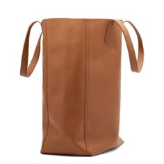 Leather Tote (Tall) {for moi}