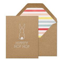 Hippity Hop Hop Easter Card