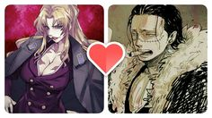 """I think that two are so rude and sexy at the same time and in my opinion they can be a perfect couple if they was in the same anime . My favorite """"gangster couple """""""