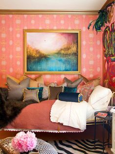 Bohemian Bedroom Decor Ideas - Intend to add funky style to your bed room? Think about making use of bohemian, or boho, design motivation in your next room redesign. Decor, Bohemian Bedroom, Interior Inspiration, Small Bedroom Designs, Bedroom Decor, Eclectic Bedroom Design, Pink Bedroom, Eclectic Bedroom, Teenage Room