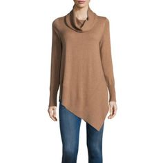 FREE SHIPPING AVAILABLE! Buy a.n.a Asymmetric Hem Tunic Sweater at JCPenney.com today and enjoy great savings.