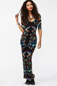 Tropic Maxi Dress -- different. I'd totally rock this
