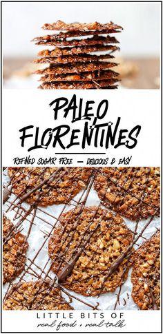 Paleo Recipes, Gourmet Recipes, Real Food Recipes, Paleo Meals, Cookie Recipes, Chicken Recipes, Paleo Cookies, Sweet Cookies, Sweet Treats
