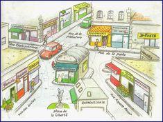 Un plan interactif d'une ville - ThingLink