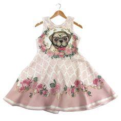 Vestido Cachorro Petit Cherie - Comprar em Très Bébé