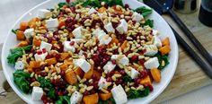 Grønnkålsalat med grillet søtpotet – Berit Nordstrand
