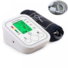 Automatic Digital Arm Blood Pressure Monitor BP Sphygmomanometer Pressure Gauge Meter Tonometer for Measuring Arterial Pressure-in Blood Pressure from Beauty & Health In China, Monitor, Pressure Gauge, Blood Pressure, Date, Irregular Heartbeat, Engineering Plastics, 30, Health Care