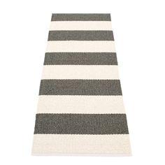 Bob teppe, charcoal/hvit – Pappelina – Kjøp møbler online på ROOM21.no