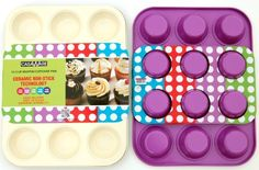 casaWare Ceramic Coated NonStick 12 Cup Muffin Pan (Cream... https://www.amazon.com/dp/B00K2LDT9G/ref=cm_sw_r_pi_dp_x_vBRIybP342A88