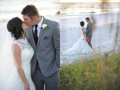 Photography: Ashley Poole - blog.apoolephoto.com/2014/01/jenna-jeff-santa-rosa-beach-wedding  Read More: http://www.stylemepretty.com/2014/06/20/sophisticated-beachfront-wedding-film/