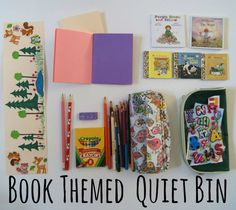 Book Themed Book Bin: Back In The Hills