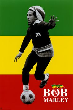 Cool pictures of Bob Marley playing football, or for you across the water, Soccer. The pictures capture Bob Marley playing in formal games, . Bob Marley Kunst, Bob Marley Art, Reggae Bob Marley, Bob Marley Quotes, Image Bob Marley, Bob Marley Legend, Jamaica People, Jean Miro, Bob Marley Pictures