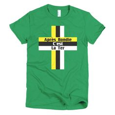 Dominica Motto - Short sleeve women's t-shirt