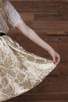 Pulling off The Full Skirt | Grown-up Shoes and Chelsea Fullerton for Camille Styles