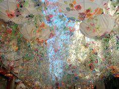 flower power during la fiesta mayor de Gracia by Barcelona-home, via Flickr