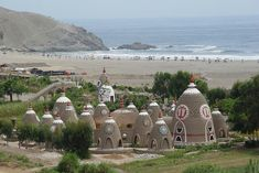 Eco Truly Park is an eco village north of Lima, in Peru.  It is a part of a network of eco-villages called Eco Yoga Villages.