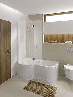 Roca tub shower