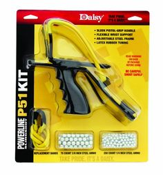 Daisy Outdoor Products P51 Slingshot Kit Yellow/Black 8 | Online Prepper Store
