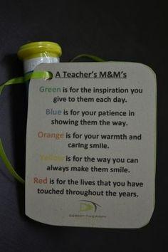 So cute for Pre-K and K teacher too! #teachergifts