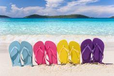 Photo about Rainbow colored flip flops lined up in a row on tropical beach. Image of yellow, flop, leisure - 11307841 Beach Wear, Beach Bum, Bali Beach, Summer Baby, Summer Time, Summer Fun, Bali Weather, Weather Rain, Brazil