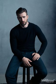 JL: Got smolder?  Chris Evans at TIFF  Toronto: Exclusive Portraits of Robert Downey Jr., Chris Evans and Fest's Biggest Stars
