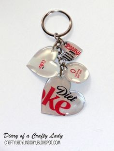 Soda Can Crafts, Cute Crafts, Crafts To Make, Diy Crafts, Food Crafts, Yarn Crafts, Sewing Crafts, Recycle Cans, Recycling