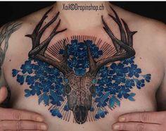 Xoil skull tattoo