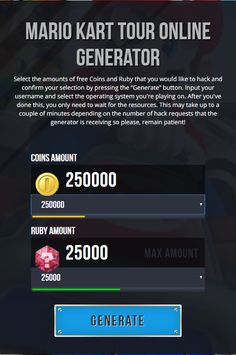 Mario Kart Tour Hack Generator 2020 Get Unlimited Free Coins and Ruby for Android and iOS Mario Kart Tour Hack Tool 2020 Get Unlimited Free Coins and Ruby for Android and iOS App Hack, Game Resources, Singles Online, Game Update, Test Card, Mobile Legends, Hack Tool, First Game, Hack Online