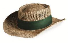 Custom Sea Grass Straw Gambler Hat