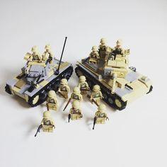 New batch of Africorps troops  #moc #soldiers #military #ww2 #worldwar2 #worldwar #wwii #world #war #2 #german #germany #africa #africorps #infantry #desert #new #batch #decal #brickmania #brick #bricks #lego #legos #legomoc #legostagram by aspenglerchannel
