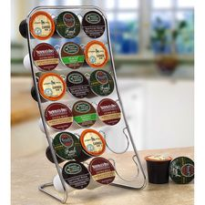 Coffee Pod Display #HouseholdOrganization #OrganizationIdeas