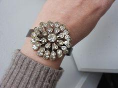 upcycled brooch bracelet