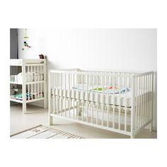 GULLIVER Lit bébé IKEA 2 hauteurs de sommier possibles.