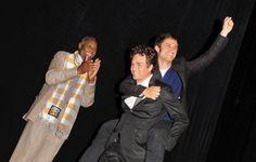 Danny Glover, Mark Ruffalo e Gael García Bernal na estreia de 'Ensaio Sobre a Cegueira' no Festival Internacional de Toronto - 2008. (Foto por George Pimentel / WireImage)