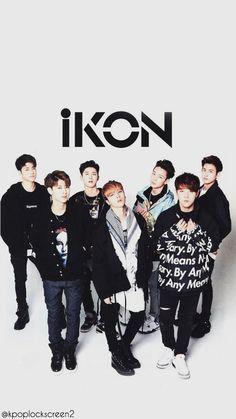 iKON Wallpaper cr: kpoplockscreen2
