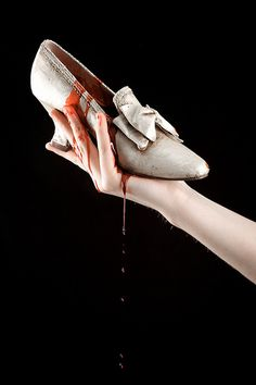 """Cinderella"" - Blood / Hands / Shoe"