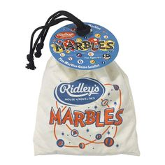Never lose your marbles again with this great drawstring bag containing 40 glass marbles small and 1 large) and game instructions. Games include the classic Ring Game, Bun Hole, Cherry Pit and more. Little Boo-Teek - Ridley's Kaleidoscope Ring Game, Wild Wolf, Kids Boutique, Glass Marbles, Toys Online, Retro Toys, Baby Store, Just Kidding, New Shop