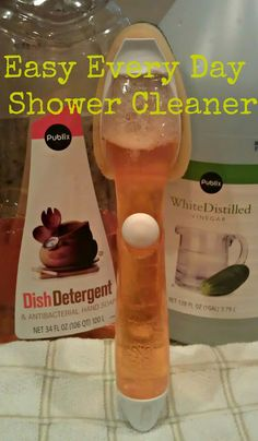 Easy Every Day Shower Cleaner