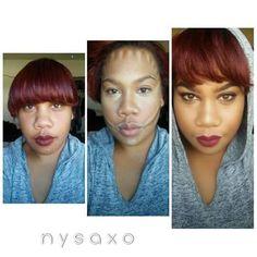 #contour #teneille #polynesian #mua #makeup #pictorial #makeupaddict #sephora #maccosmetics #clowncontour #glow
