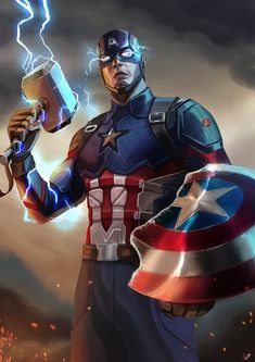 Captain America – Avengers: Endgame, Franklin Fernandes on ArtStation at www.art Marvel Comics – Anime Characters Epic fails and comic Marvel Univerce Characters image ideas tips Marvel Avengers, Marvel Comics, Hero Marvel, Iron Man Avengers, Captain America Art, Captain America Costume, Captain America Wallpaper, Wallpapers Superheroes, Marvel Fanart