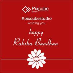 #pixcubestudio wishing you happy raksha Bandhan
